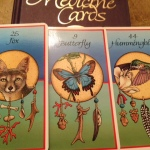 Three Medicine Cards for 2014 by Willow