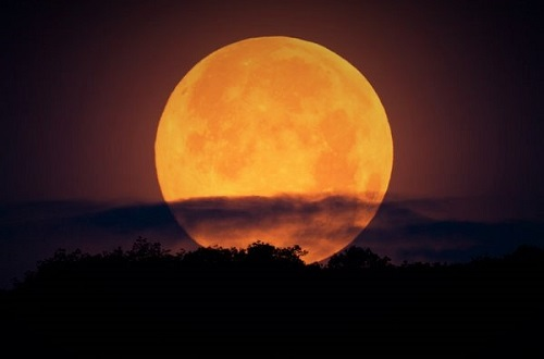 Super Perigee Full Moon